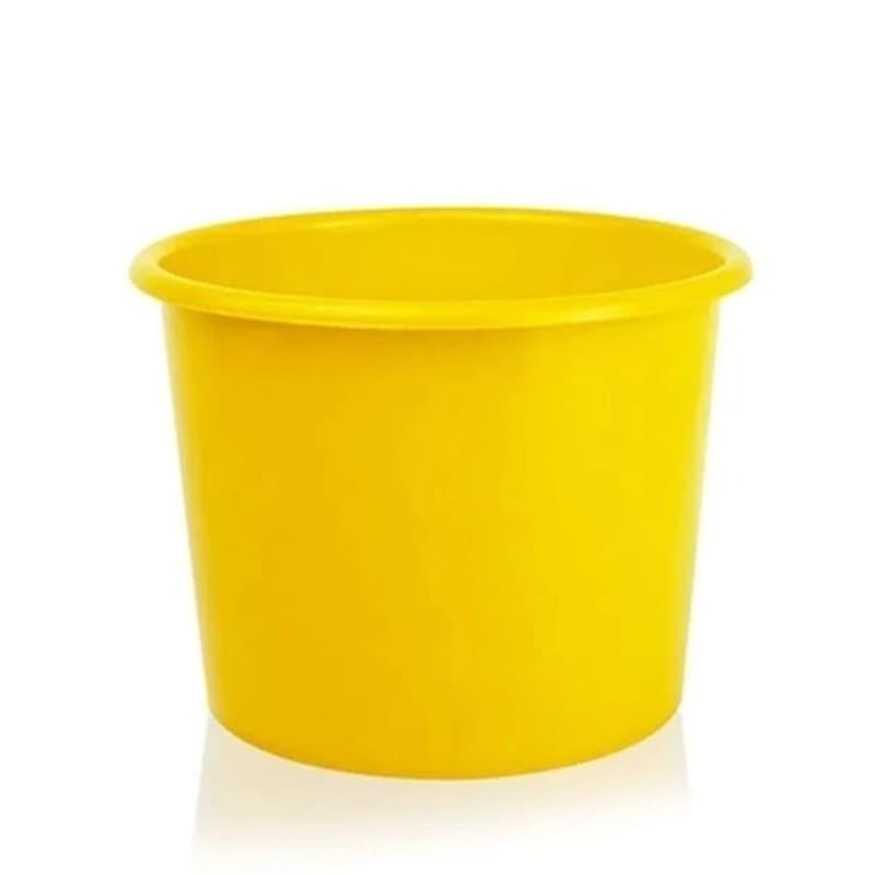 Baldinho De Pipoca 1,5 L Amarelo 10 Unidades