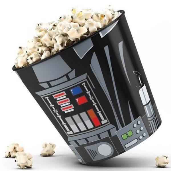 Balde de Pipoca Lorde Sith Darth Vader 3 litros 16 x 14 cm