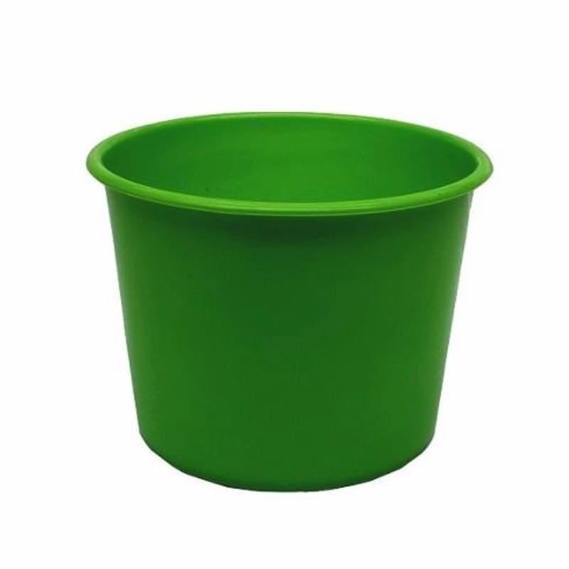 Baldinho De Pipoca 1,5 L Verde Bandeira 10 Unidades