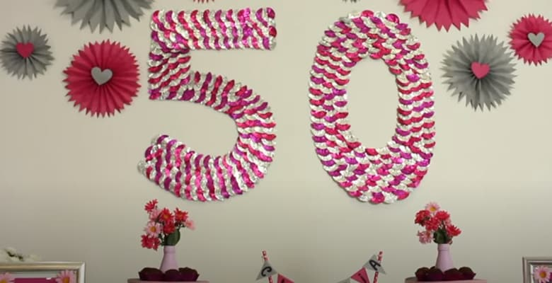 Festa de Aniversário de 50 ANOS Gastando Pouco
