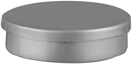 Mini Latinha para Lembrancinha Cinza – 10 Unidades