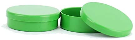 Latinha Mint to Be Plástico para Lembrancinha 5x1cm Kit c/ 50 Verde Bandeira