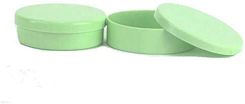 Latinha Mint to Be Plástico para Lembrancinha 5x1cm Kit c/ 50 Verde Claro
