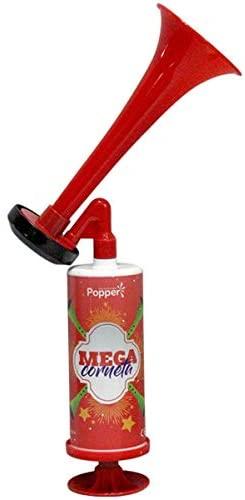 Artigo para Festa Buzina Mega Corneta Manual Popper