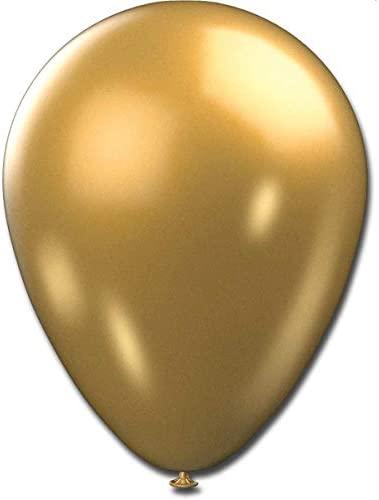 Balao Metalizado N.090 Dourado – Pacote Com 25 São Roque Dourado
