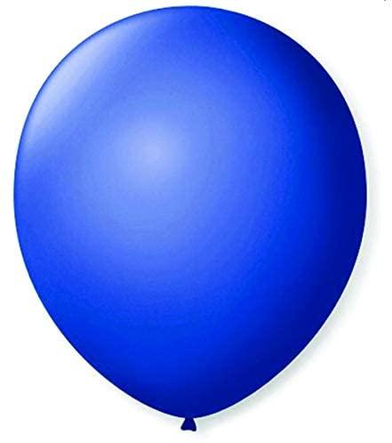 São Roque Balão Imperial N.070 Cobalto, Azul, 50 balões