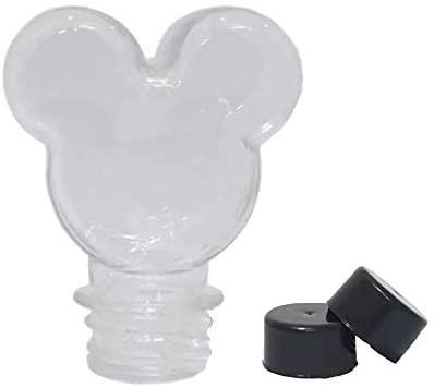 Baleiro Tubete Mickey 90ml Tampa Preta – 10 unidades