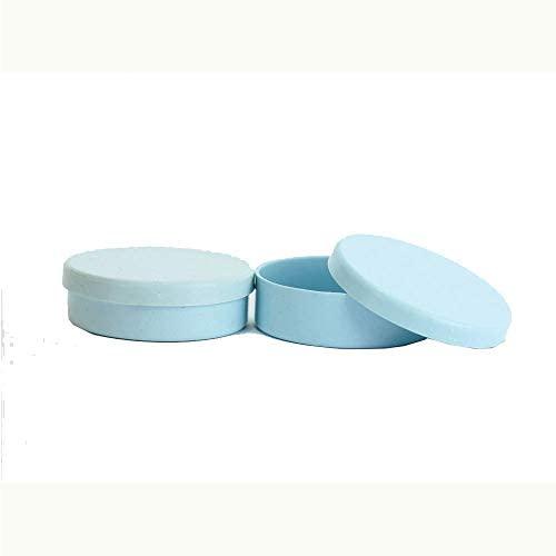 Latinhas de Plástico Mint to Be 5,5×1,5 cm Azul Bebê – Kit com 50 unidades