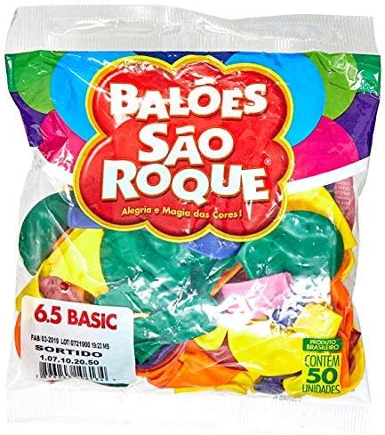 Balão Classic N.065, Cores Sortidas, São Roque