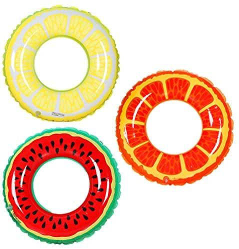 NUOBESTY 3 peças de boias infláveis para piscina, boias para piscina, artigos de piscina para decorações de festa na piscina