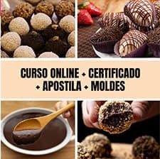 Curso de Brigadeiro Gourmet Profissional