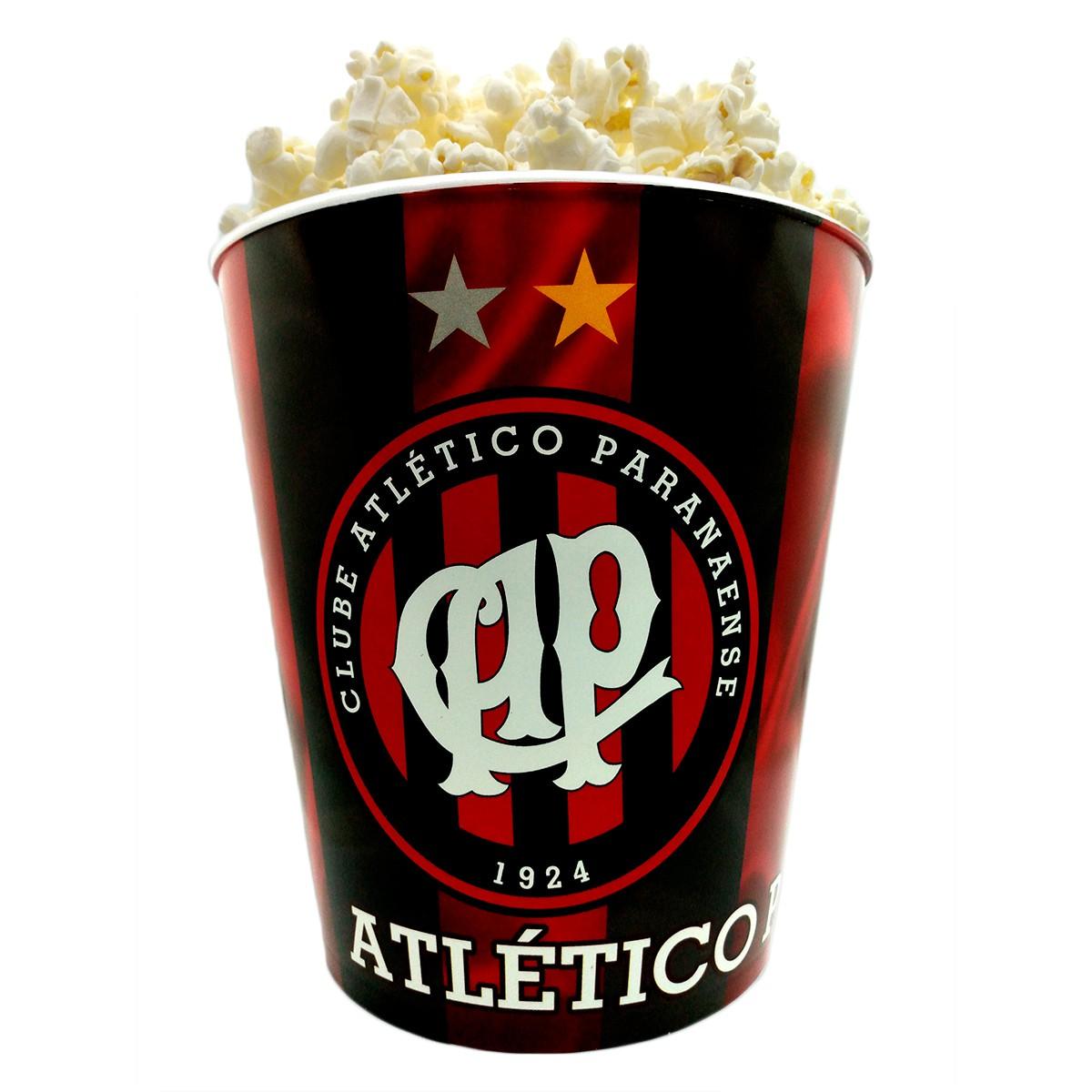 Balde de pipoca do Atlético Paranaense